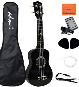 ADM-21-Economic-Soprano-Ukulele-Start-Pack-Mahogany-Color-0
