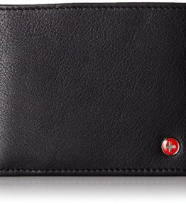 Alpine-Swiss-Mens-Leather-Flipout-ID-Wallet-Bifold-Trifold-Hybrid-0