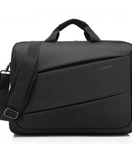 CoolBellTM173-inch-Unisex-Waterproof-Oxford-Cloth-Laptop-Bag-with-Shoulder-Bag-Strap-Messenger-tablet-Briefcase-Multi-compartment-Hand-Bag-For-iPad-ProMacbookDell-Alienware-For-CollegeMenWomenBusiness-0