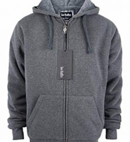 Lee-Hanton-Mens-Full-Zip-Heavyweight-Sherpa-Lined-Fleece-Hoodie-Jackets-0