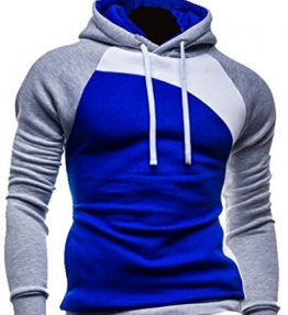 Mens-Pullover-Hoodies-Coat-Sweatshirt-Hooded-Hoodie-Casual-Hoody-Outwear-Jacket-0