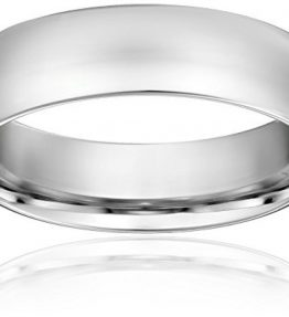 Standard-Comfort-Fit-Platinum-Gold-Wedding-Band-6mm-0