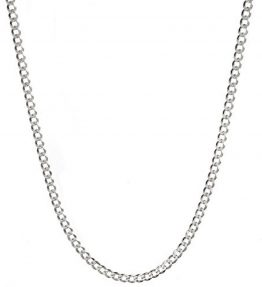 Sterling-Silver-Mens-Italian-42mm-Diamond-Cut-Cuban-Curb-Chain-Necklace-All-Sizes-16-30-0