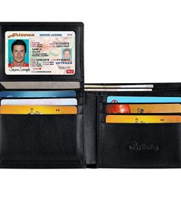 Travelambo-Genuine-Leather-RFID-Blocking-Wallets-Mens-Wallet-Bifold-0