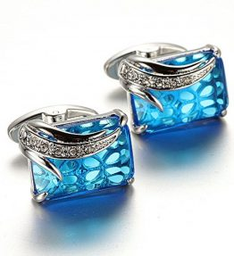 Unique-Design-Stylish-Modern-Luxury-Crystal-Blue-Stone-Cufflinks-for-Shirt-Wedding-Business-0