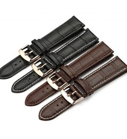 iStrap-Calfskin-Leather-Watch-Band-Replacement-Choice-of-Color-Width-18mm19mm-20mm21mm-or-22mm-0