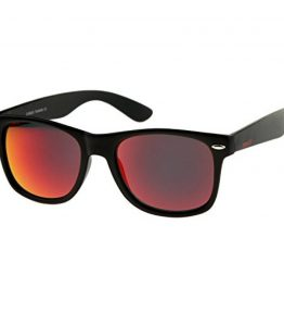 zeroUV-Matte-Finish-Reflective-Color-Mirror-Lens-Large-Square-Horn-Rimmed-Sunglasses-55mm-0