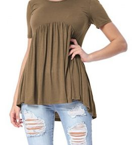 Levaca-Womens-Tops-Short-Sleeve-Draped-Casual-Loose-Fit-Flare-Tunic-Shirts-0