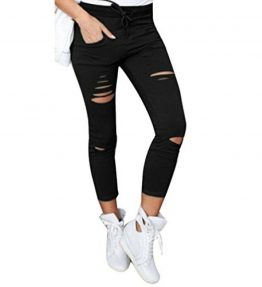 Pencil-PantsMorecome-Women-Skinny-Ripped-Pants-High-Waist-Stretch-Slim-Pencil-Trousers-0