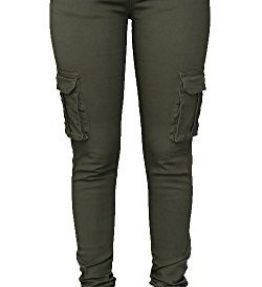 Pxmoda-Womens-Casual-Stretch-Drawstring-Skinny-Pants-Cargo-Jogger-Pants-0