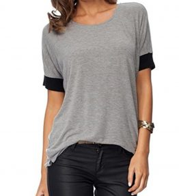 Sarin-Mathews-Womens-Casual-Round-Neck-Loose-Fit-Short-Sleeve-T-Shirt-Blouse-Tops-0